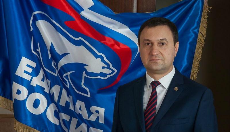 Депутат Госдумы от «Единой России» Анатолий Выборный