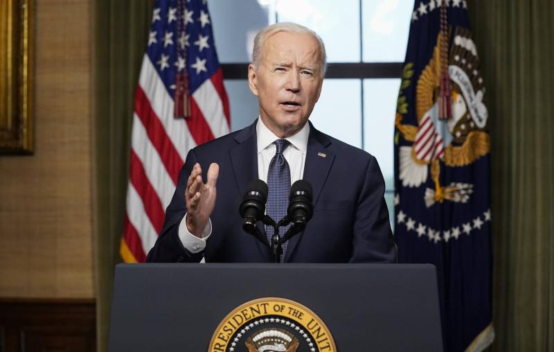 Президент США Джо Байден  © AP Photo/Andrew Harnik, Pool