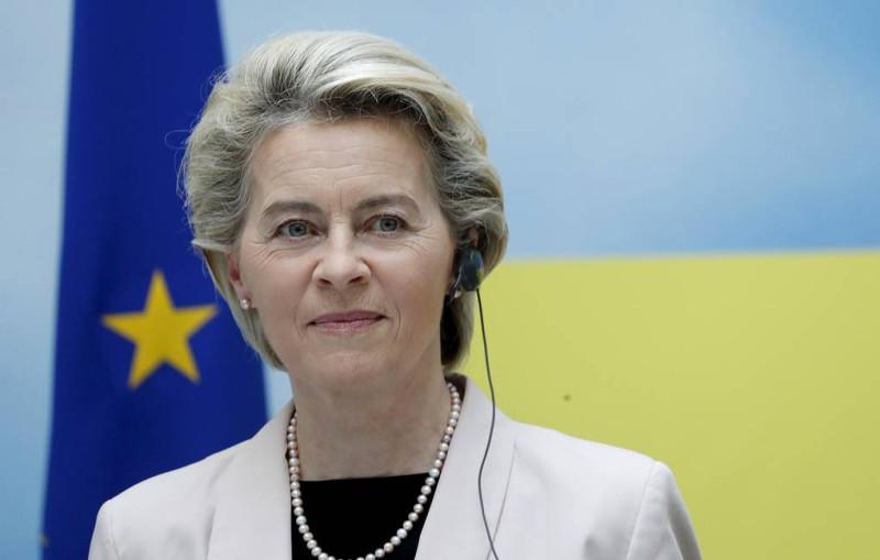 Глава Еврокомиссии Урсула фон дер Ляйен  © EPA-EFE/TOMS KALNINS