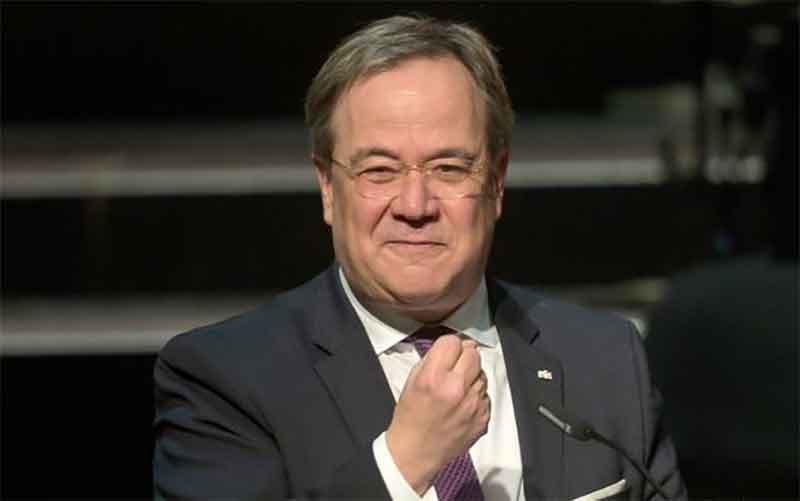 Кандидат в канцлеры Германии от консервативного блока ХДС/ХСС Армин Лашет