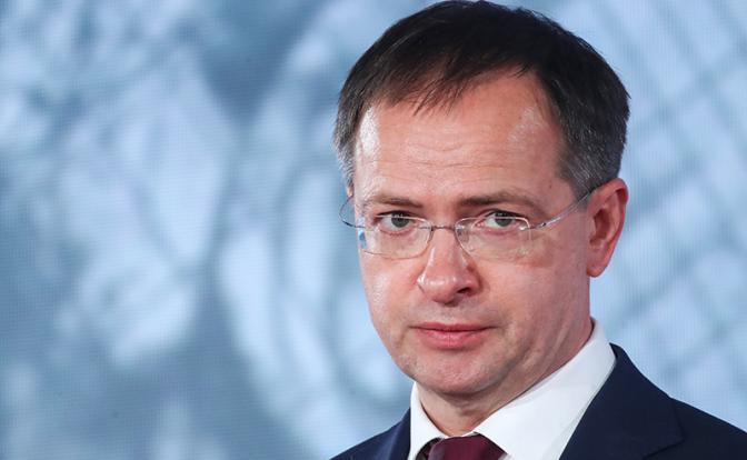 На фото: отставной министр культуры Владимир Мединский (Фото: Сергей Карпухин/ТАСС)