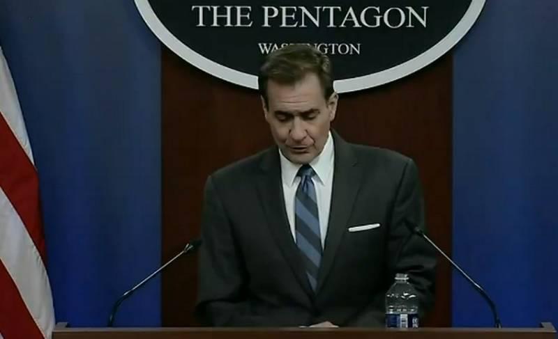 Пресс-секретарь Минобороны США Джон Кирби