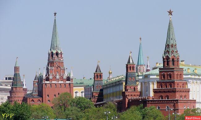 Башни Кремля. Фото: rasfokus.ru