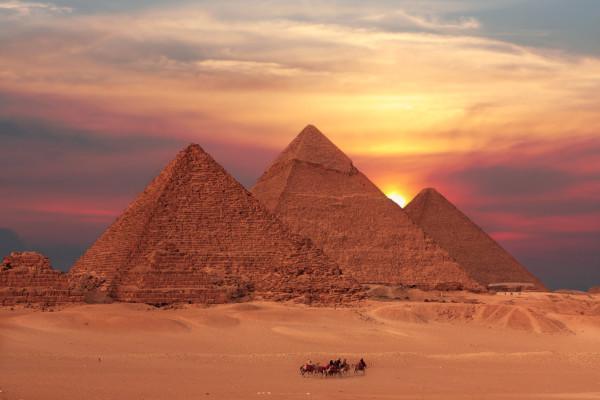 Древние подземелья и пирамиды Египта