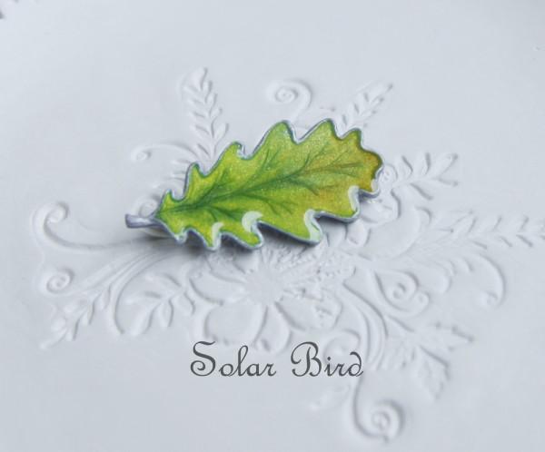 solar bird брошь из полимерной глины