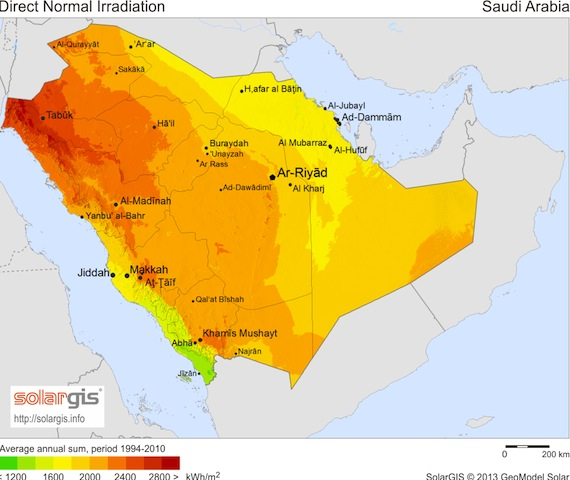 SolarCurator_SaudiArabia_Solargis_solar_irradiation_041613
