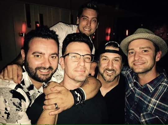 NSync 2016 JCs birthday