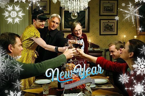 NCIS Cheers New Years
