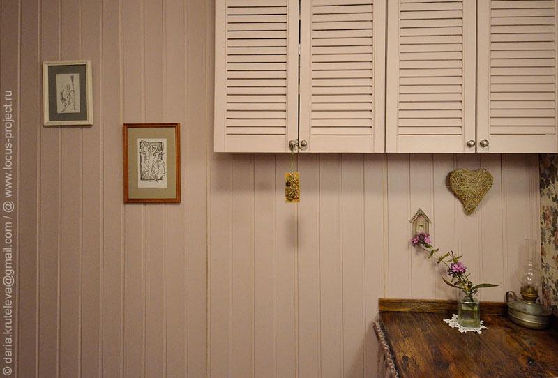 Декор стен в ванной ко