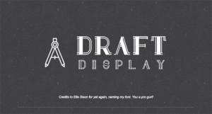 draftdisplay-font