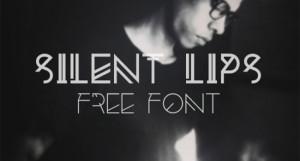 silentlips-font
