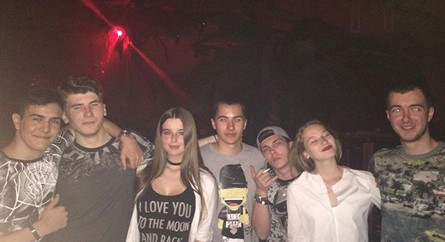 Звездные дети оттянулись в ночном клубе