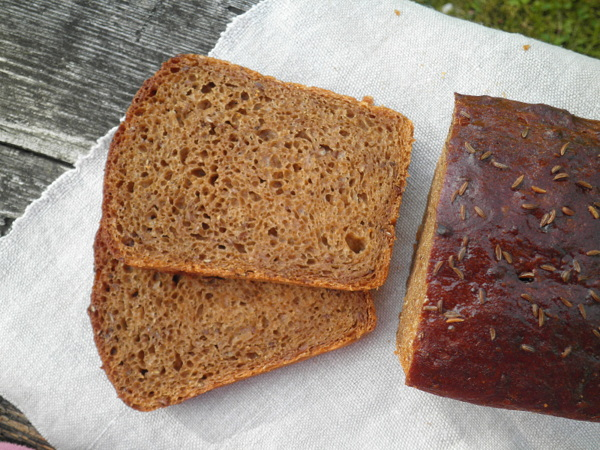 Хлеб Шведский с семенами и сухофруктами