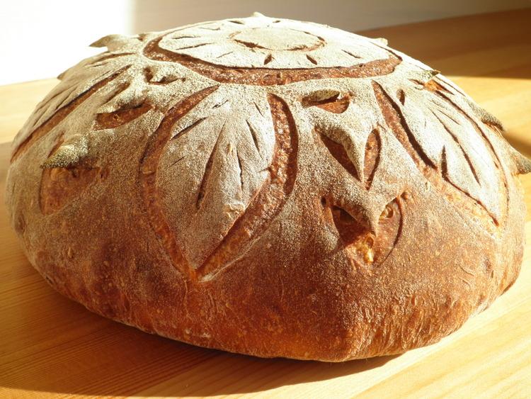Украшаем хлеб : Хлеб, батоны, багеты, чиабатта 99