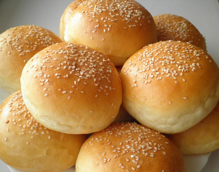 рецепт булочки гамбургера