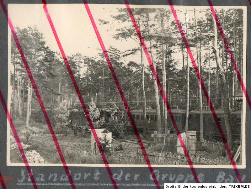u36-Russland-Gniesdowa-Standort-Baugruppe-Eisenbahn-Zug-Wagon-Tarn-Soldat