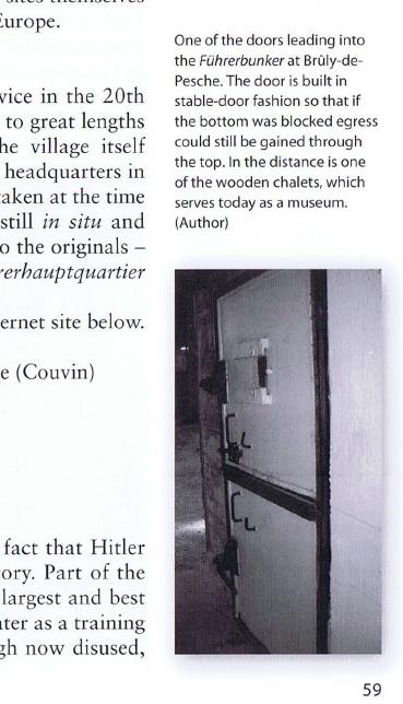 дверь в бункере