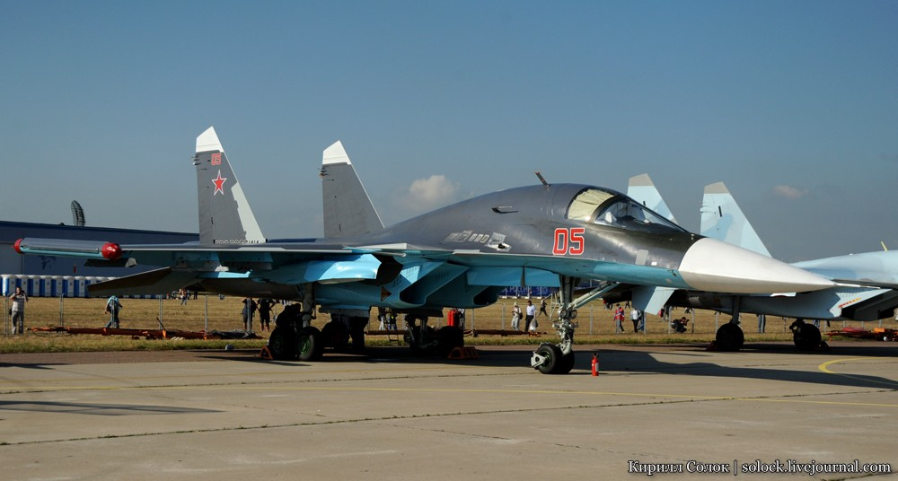 Су-35С - самолёт внешне очень