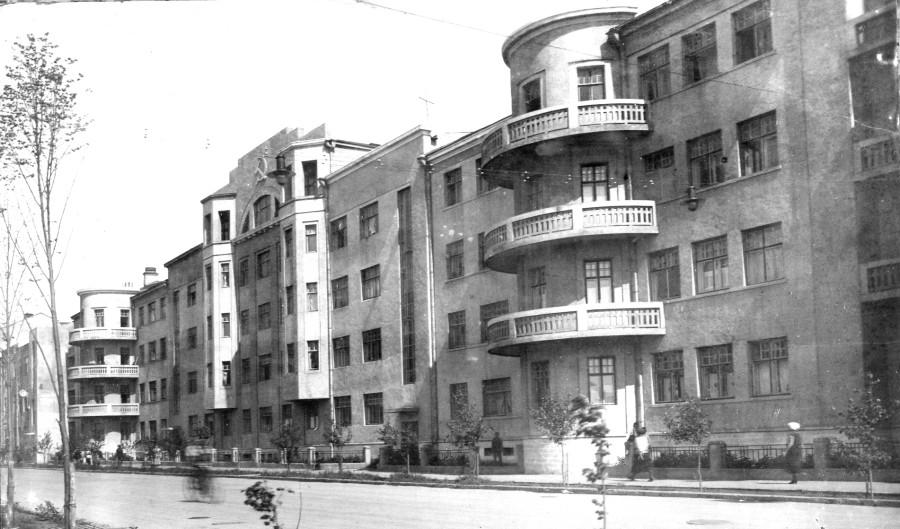 Жилой дом НКВД на ул. Ст. Разина