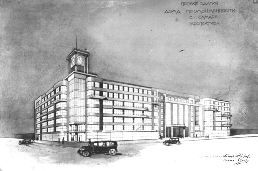Проект здания дома промышленности copy