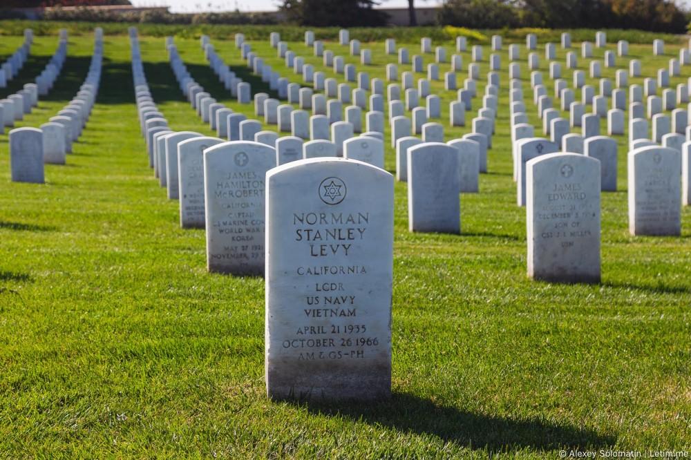 Мемориальное военное кладбище в Сан-Диего