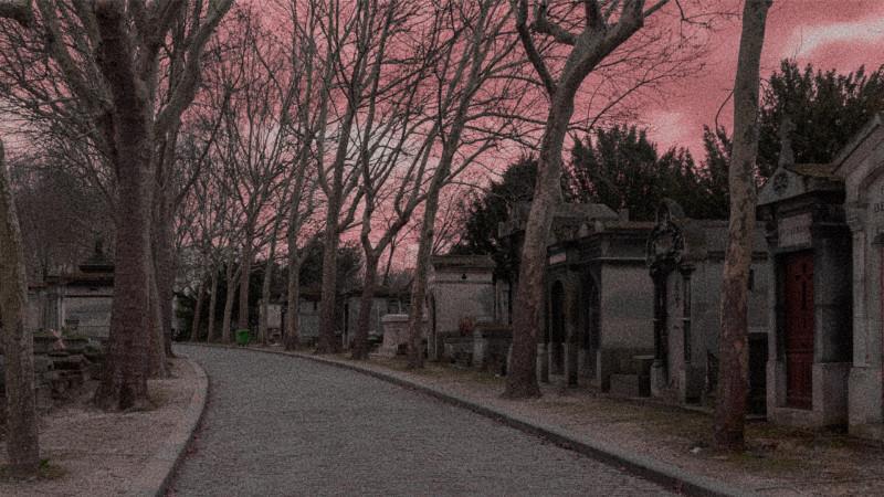 Кладбище Пер-Лашез.