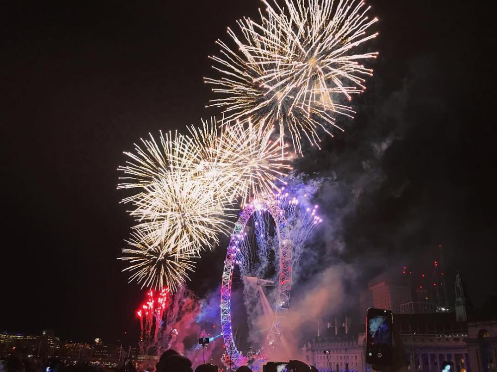 Встреча Нового года в Лондоне. Как это было