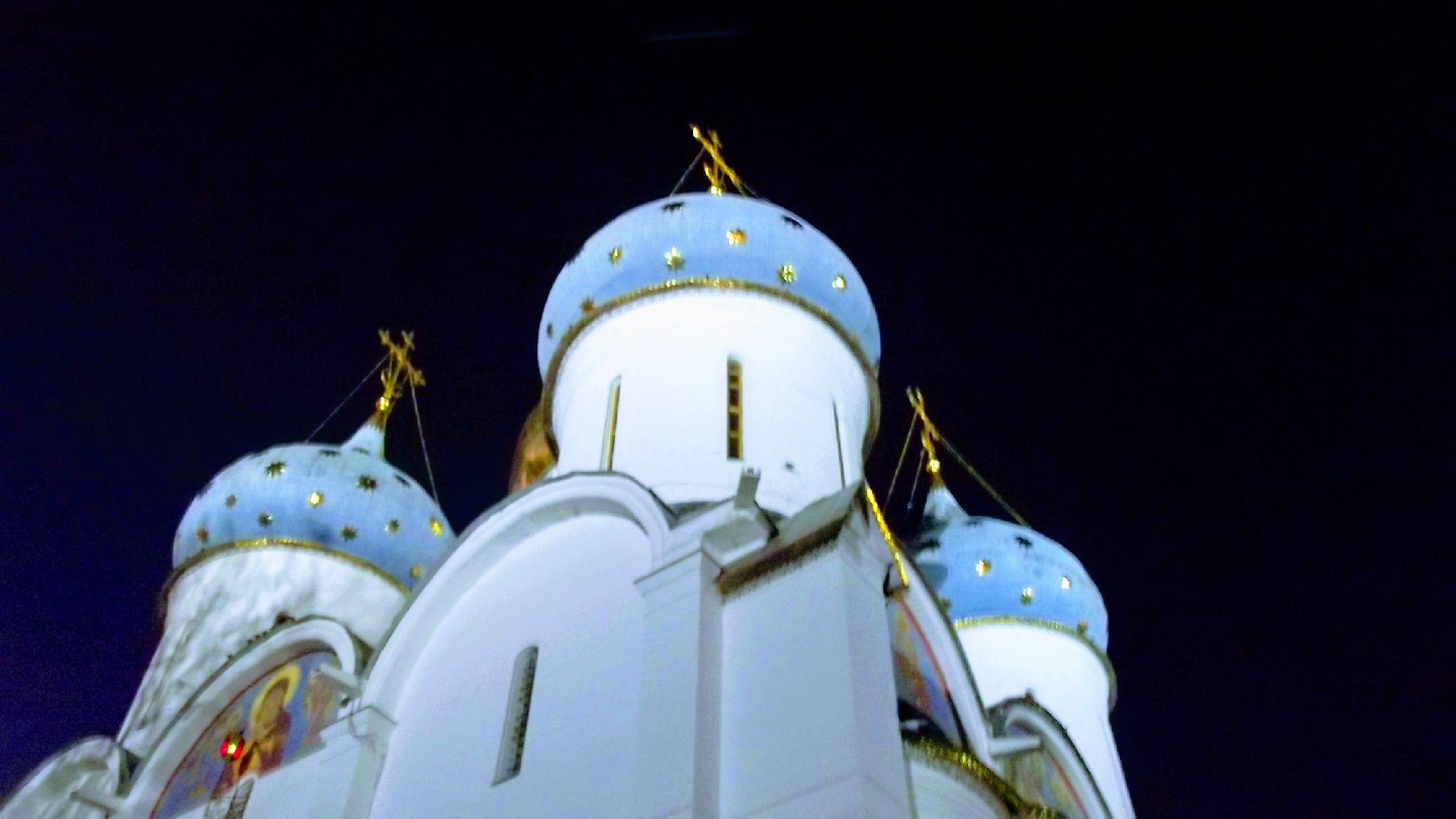К вечеру добрались до Троице-Сергиевой Лавры. Фото: SoLutova