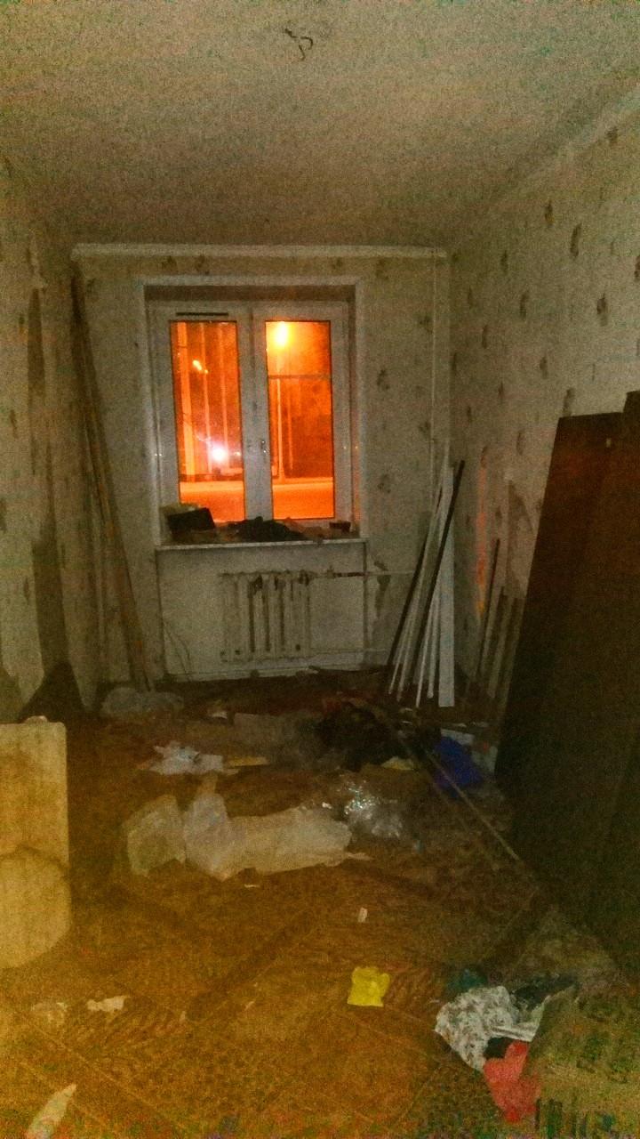 Выселенная по программе реновации квартира в московской хрущёвке. Фото: SoLutova