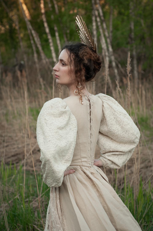 Ph/MUAH/Idea:© Мила Рогова (Milanxoli Art), платье Katrin's Vintage. Model: ©SoLutova