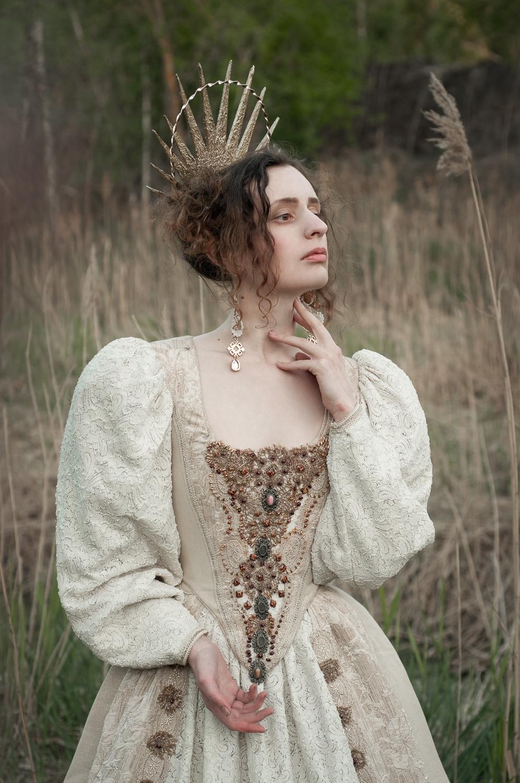 Ph/MUAH/Idea: ©Мила Рогова (Milanxoli Art). Платье: Katrin's Vintage. Model: SoLutova