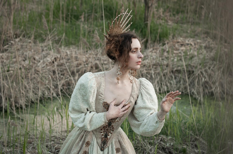 Ph/MUAH/Idea: © Мила Рогова (Milanxoli Art). Платье: Katrin's Vintage. Model: SoLutova