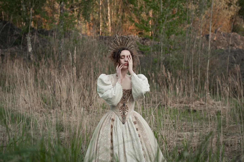 Ph/MUAH/Idea: © Мила Рогова (Milanxoli Art).Платье: Katrin's Vintage. Model: SoLutova