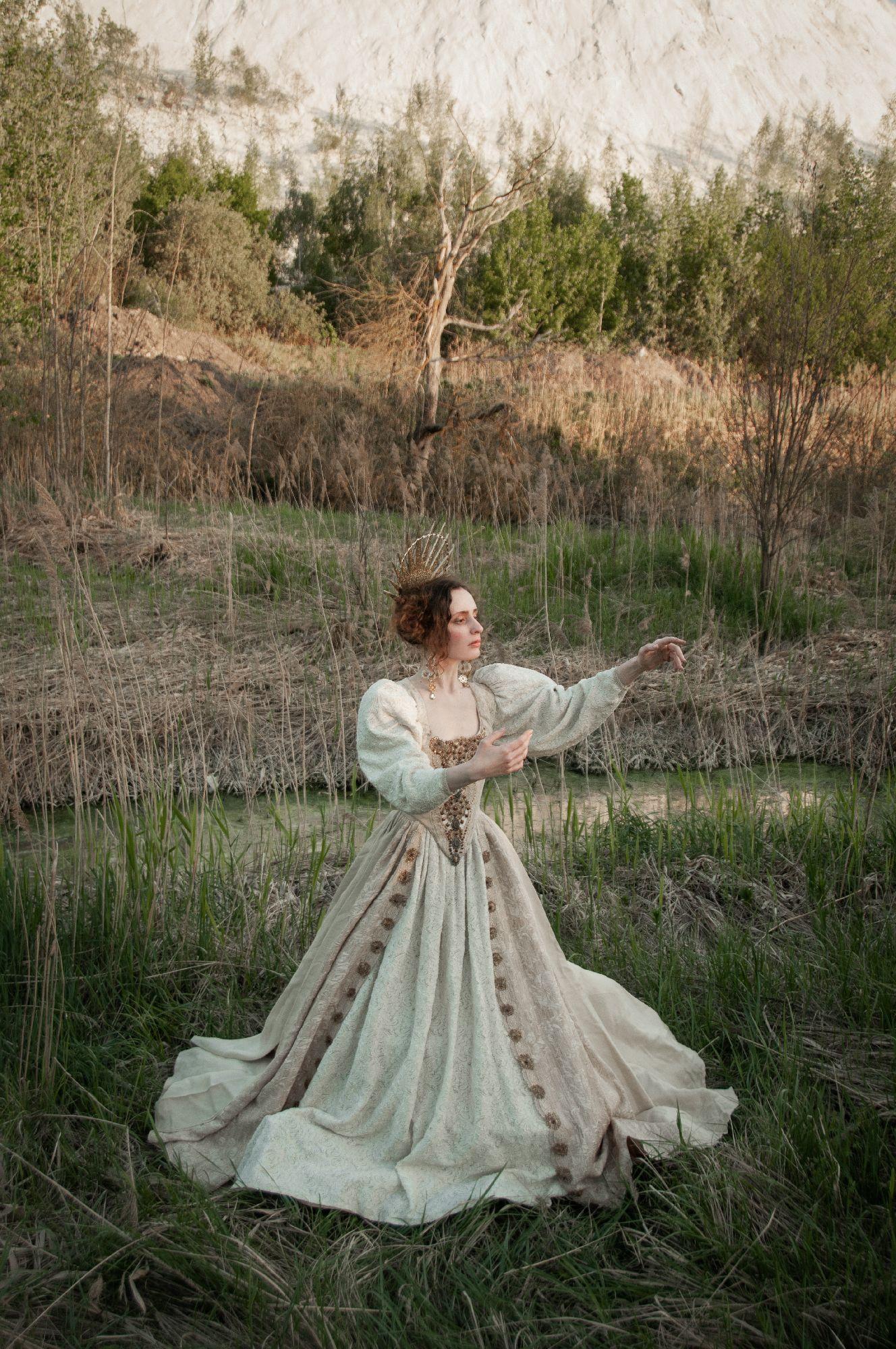 PH/MUAH/Idea: © Мила Рогова/Milanxoli Art. Платье: Katrin's Vintage. Model: SoLutova