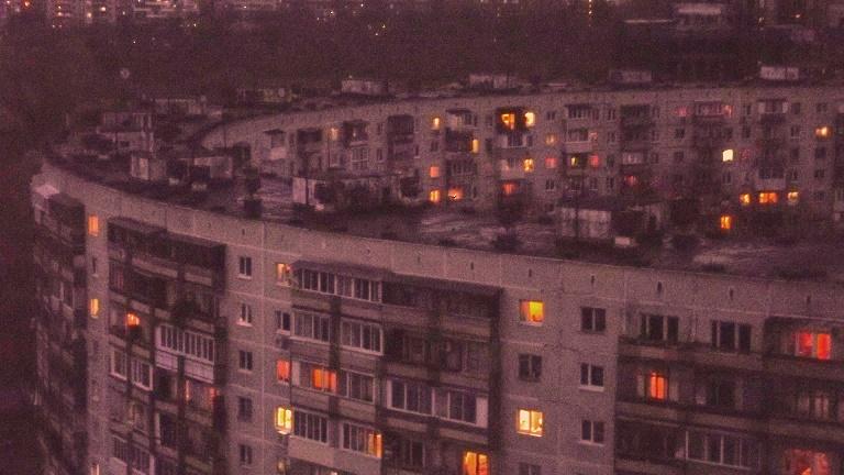 Дом-кольцо на ул. Довженко, д. 6. Photo by Solomeya Lutova