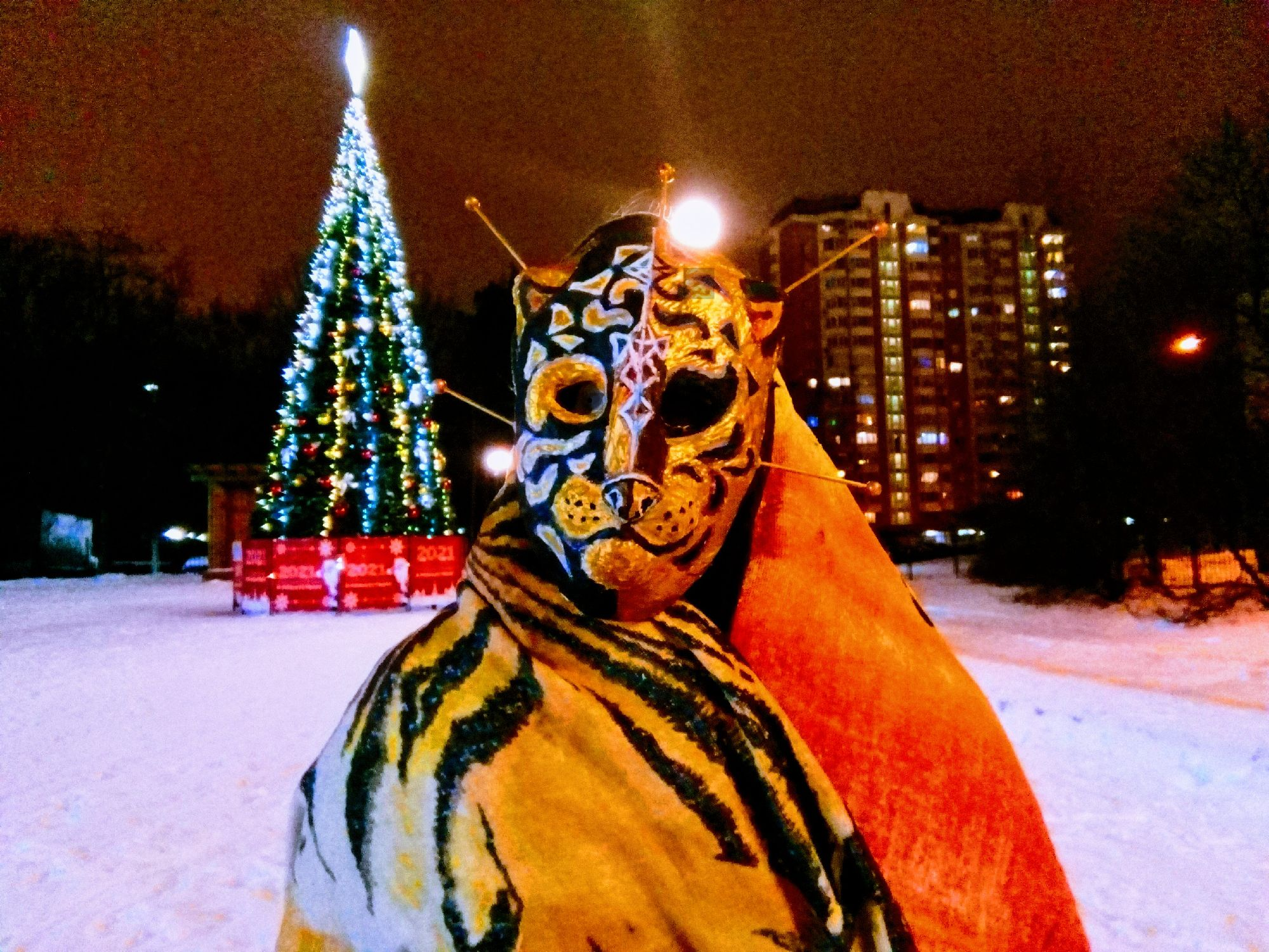 Новогодняя Ликантропия. Фото: ©SoLutova