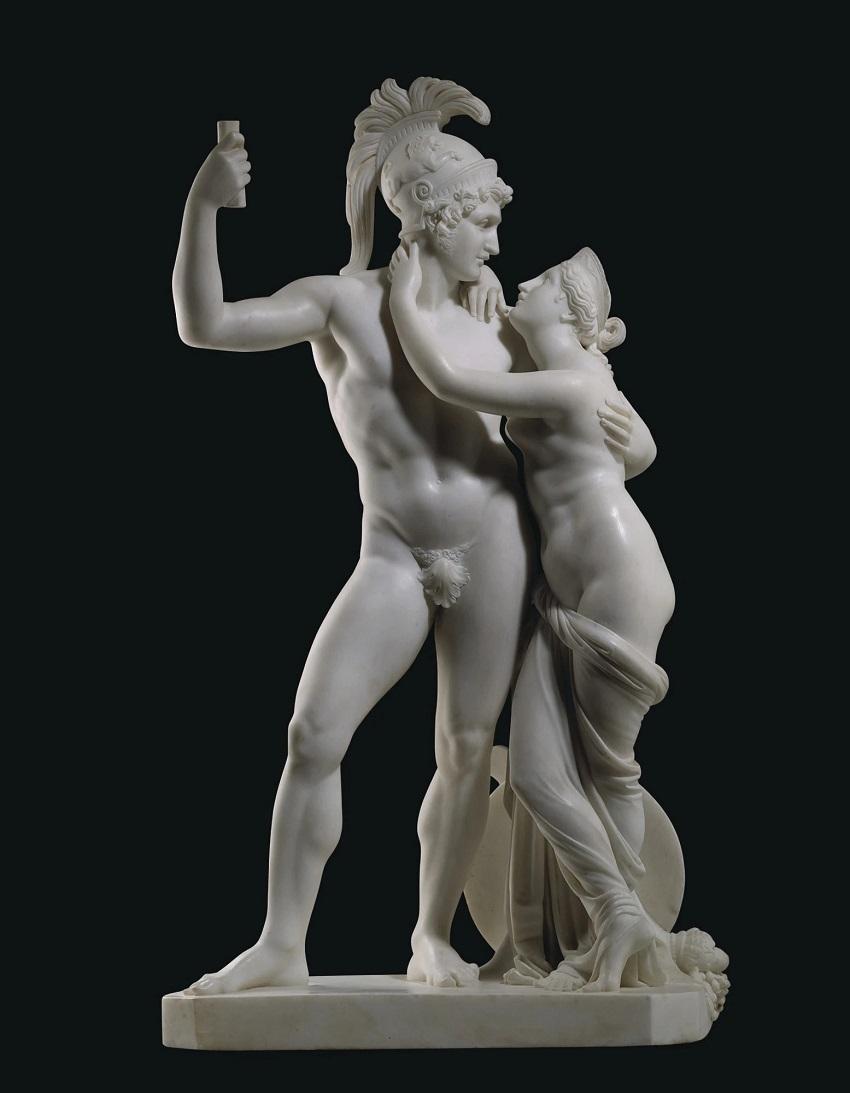 Антонио Канова. Венера и Марс. Фото: Bolli & Romitri s. r. l.
