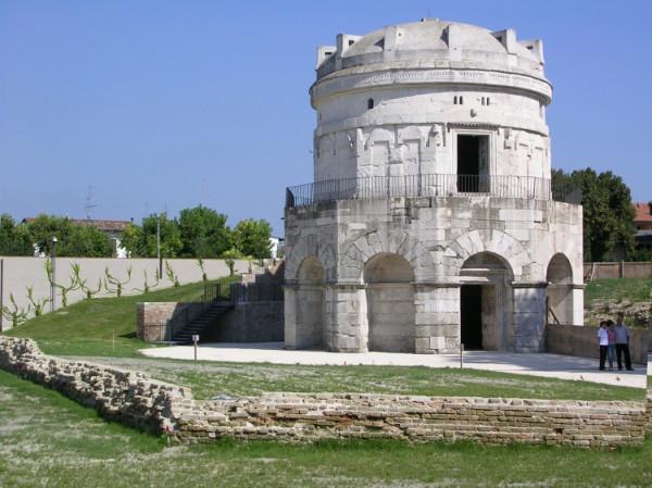 Гробница короля Теодорих. Равенна, Италия