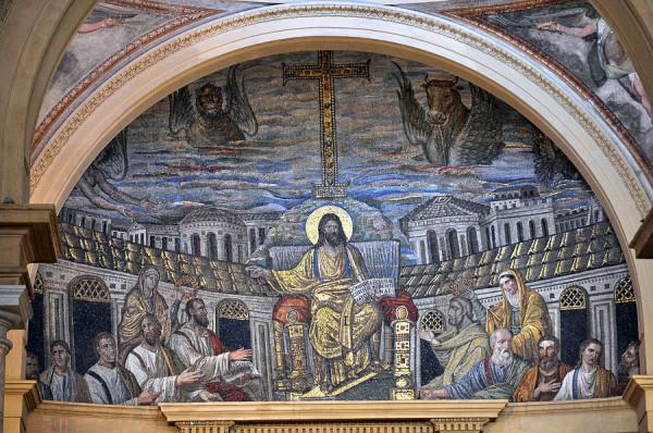 Мозаика церкви Санта Пуденциана. Рим