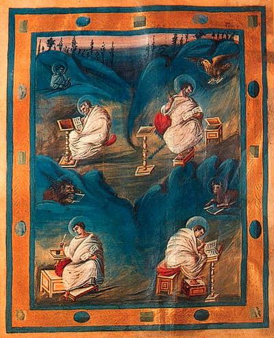 евангелие карла великого ок.810