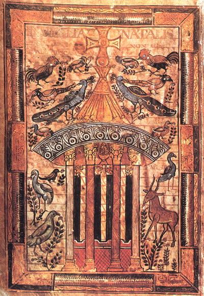 Источник Жизни. Евангеларий Голескалька 781-783 гг