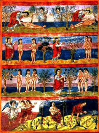 Библия Мутье-Гранваль ок.840. Турская шк..1