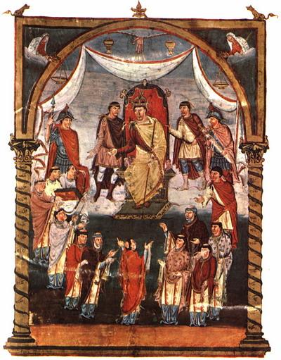 Библия Вивана 845г. Турская шк.