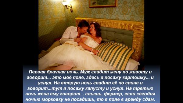 Анекдоты Про Первую Ночь