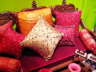 подушки барокко
