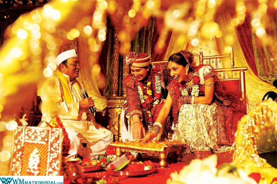 Hindu matrimony-Captivating Hindu wedding ceremony: marriage_bureau