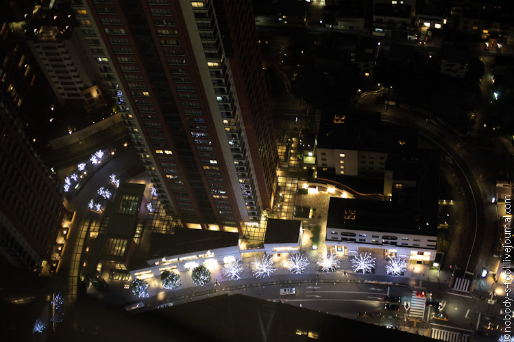 Жизнь в Токио из видовой площадки в Mori Tower
