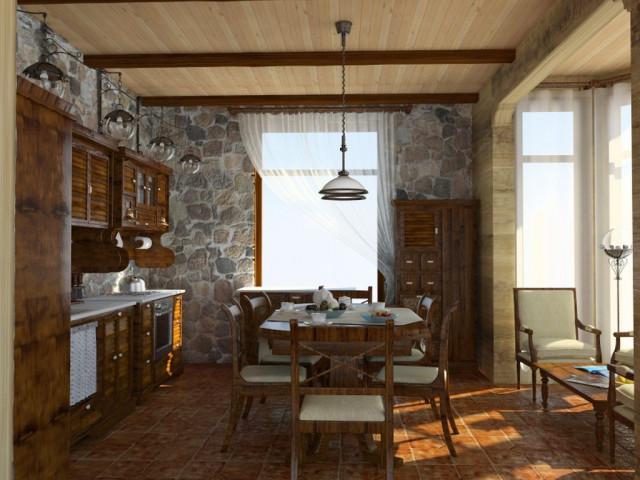 Ремонт стен в деревенском доме своими руками фото