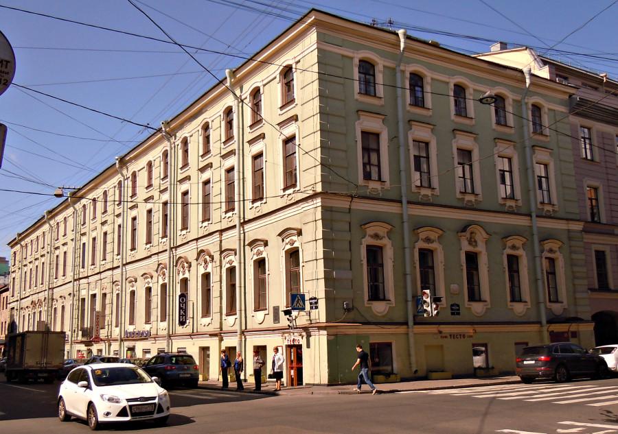 Гривцова пер., 1 Мойки наб., 64