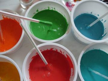 Как самим сделать цвет краски 127